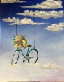 Serie bicicletas IV 11x14 Acrílico